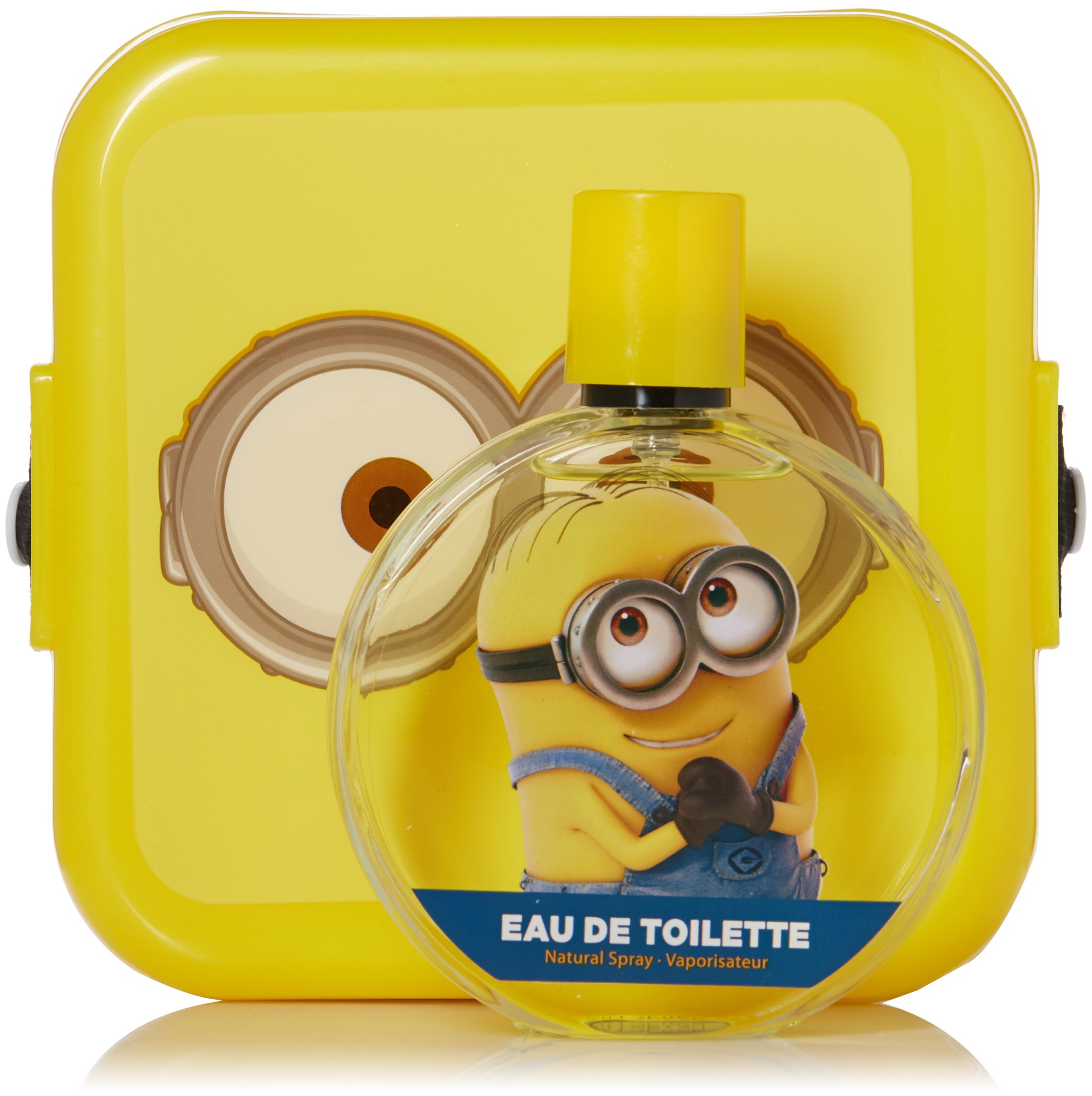 Minions for Kids 2 Piece Gift Set with Edt Spray and Minion Box by Minions