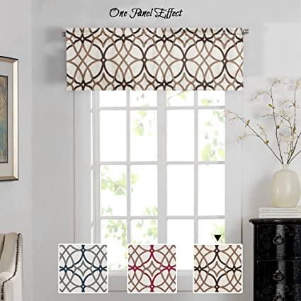 valances for living room Amazon.com: H.VERSAILTEX Energy Saving Curtain Valances for Living  valances for living room