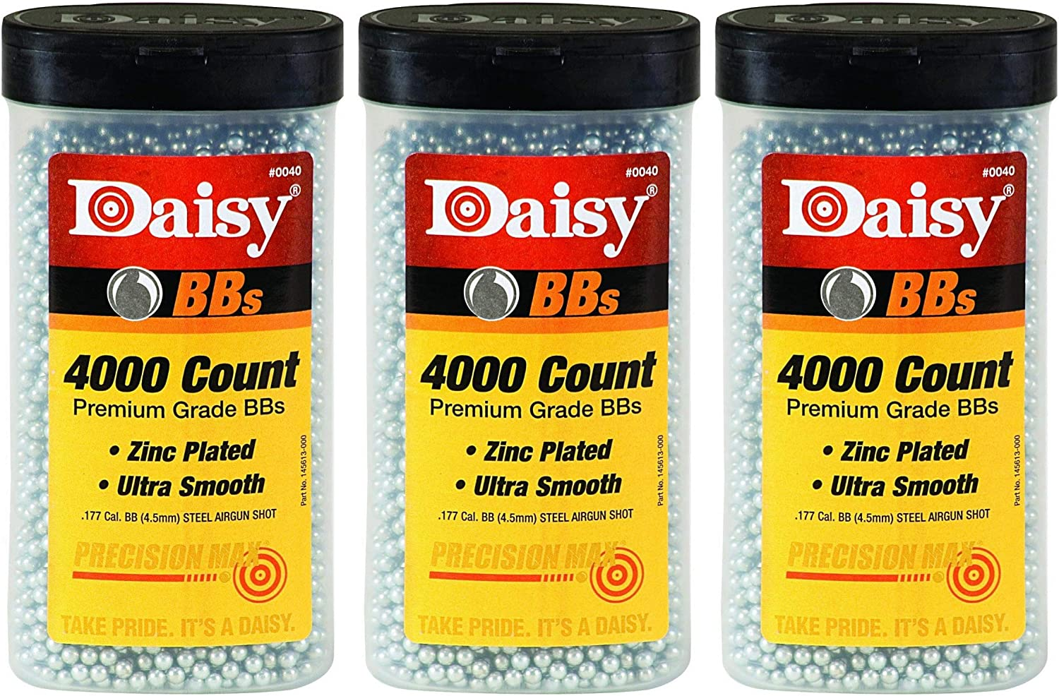 Daisy Ammunition and CO2 40 4000 ct BB Bottle New Version