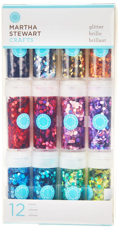 Martha Stewart Crafts Iridescent Glitter, 12-Pack: Amazon.in: Office ...