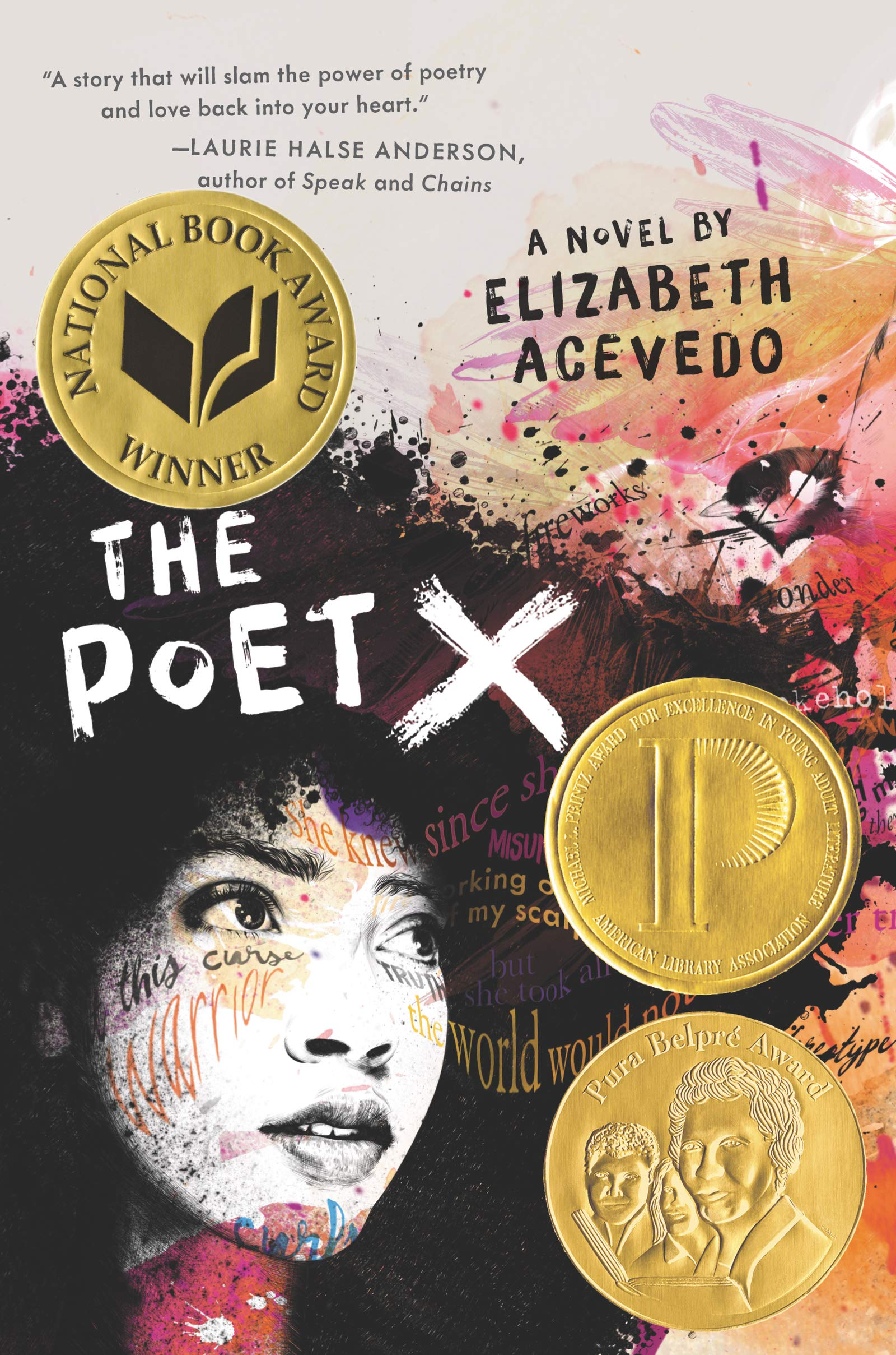 Amazon.com: The Poet X (9780062662804): Acevedo, Elizabeth: Books