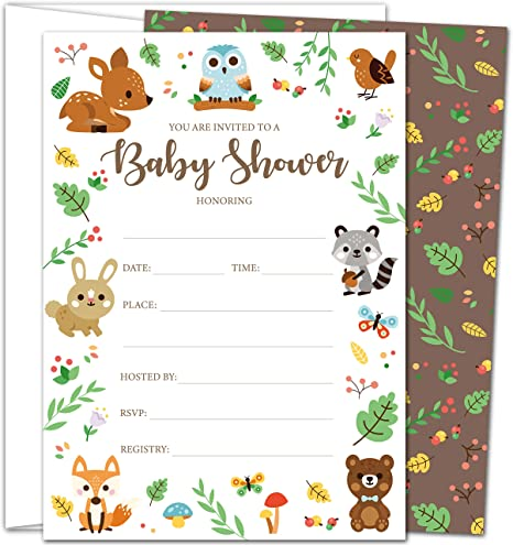 Baby Shower Announcement Cards