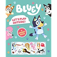 Bluey: Let's Play Outside!: A Magnet Book