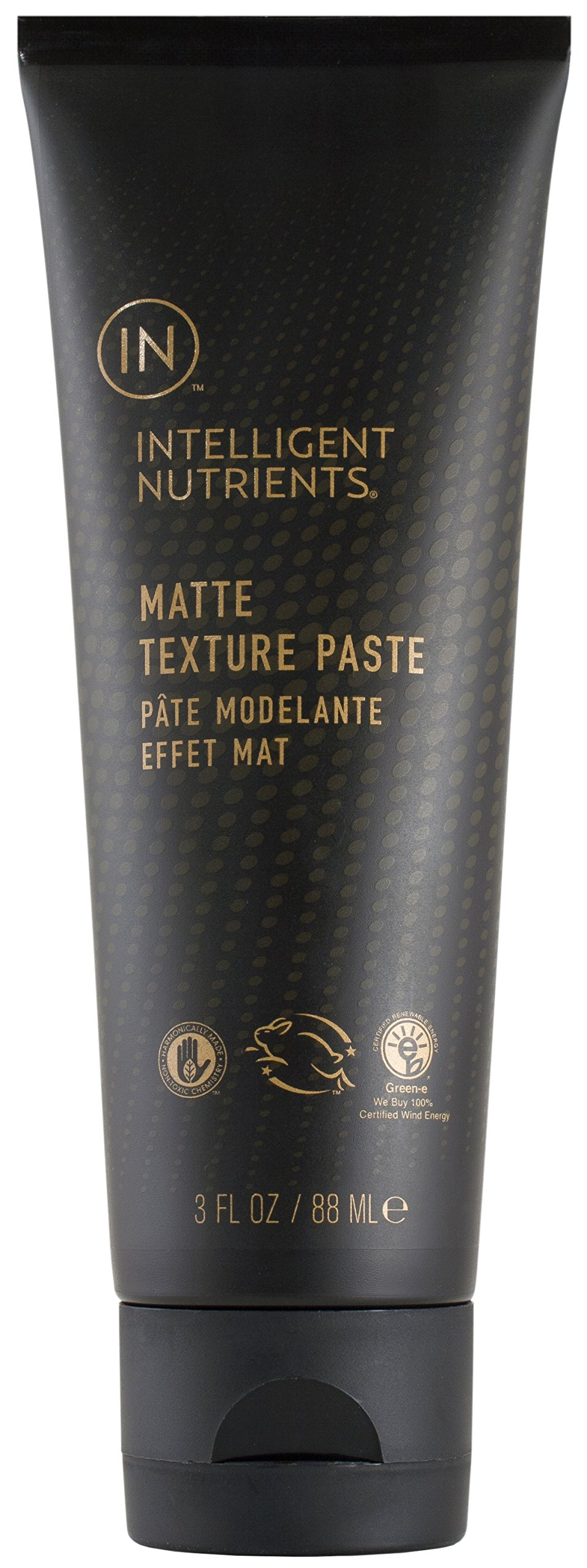 Intelligent Nutrients Matte Texture Paste - Styling Pomade with Matte Finish (3 oz) by Intelligent Nutrients