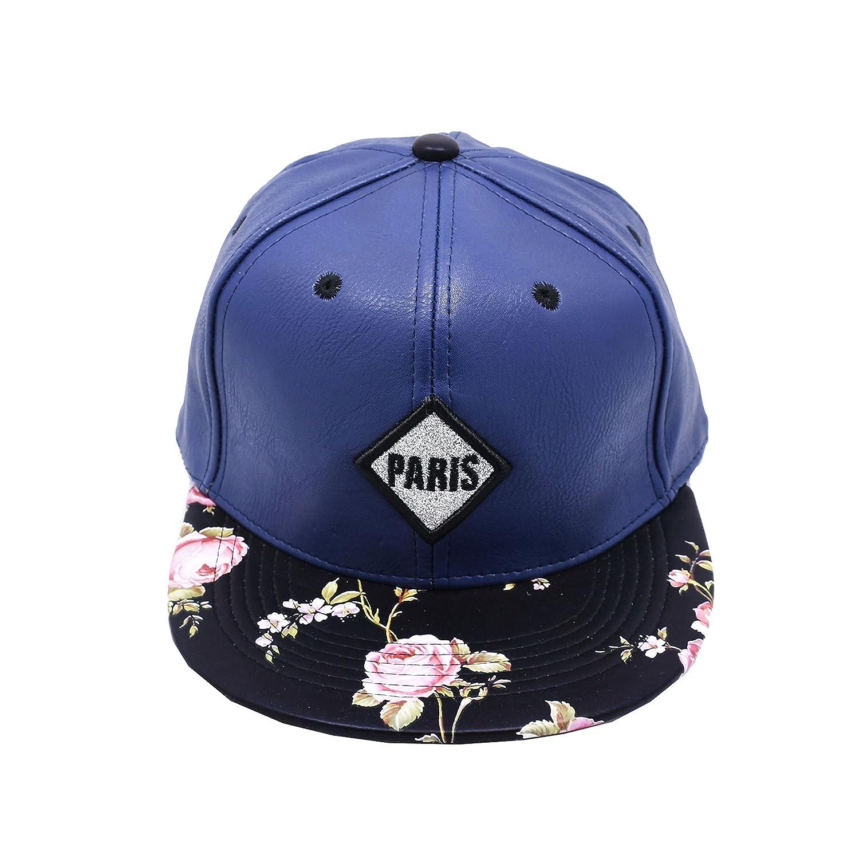 NEW Unisex stampa Snapback Hats Hip-Hop adjustable Baseball Cap Hat F1106  (F1106 navy blue)  Clothing dc889432c8ce