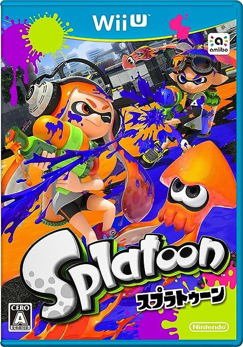 Amazon   Splatoon (スプラトゥーン) [Wii U]   ゲームソフト