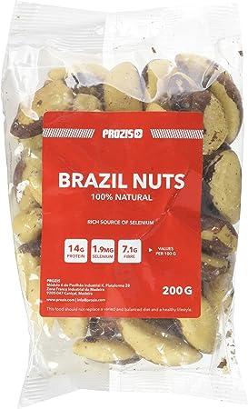 Prozis Nueces de Brasil 200 g Excelente Fuente de Proteína, Fibra y Grasas Saludables - Apto para Vegetarianos y Veganos