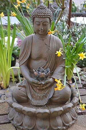 Buddha Brunnen Stabil Wasserdicht Hohe 47 50 Cm