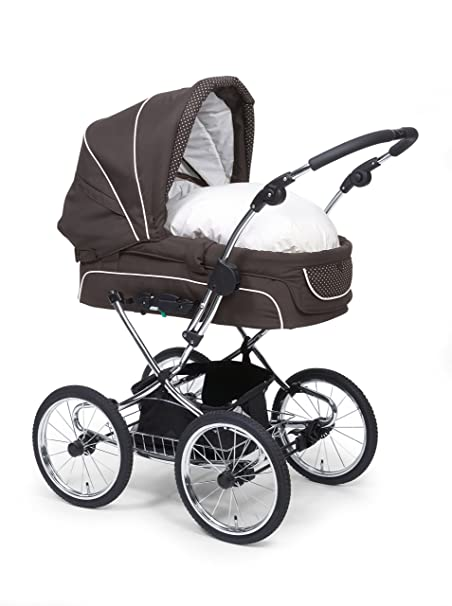 teutonia elegance retro kinderwagen hnl hesba komplettpaket runderneuert ebay. Black Bedroom Furniture Sets. Home Design Ideas