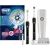 Oral-B Pro 4900 Black Electric Toothbrush - Two handle pack