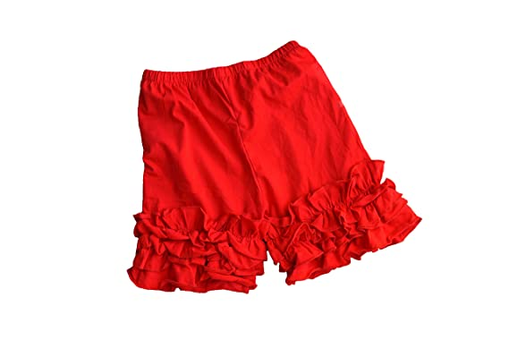 Amazon.com: Ruffle Shorts Icing Ruffle Shorts Soft toddler girls ...