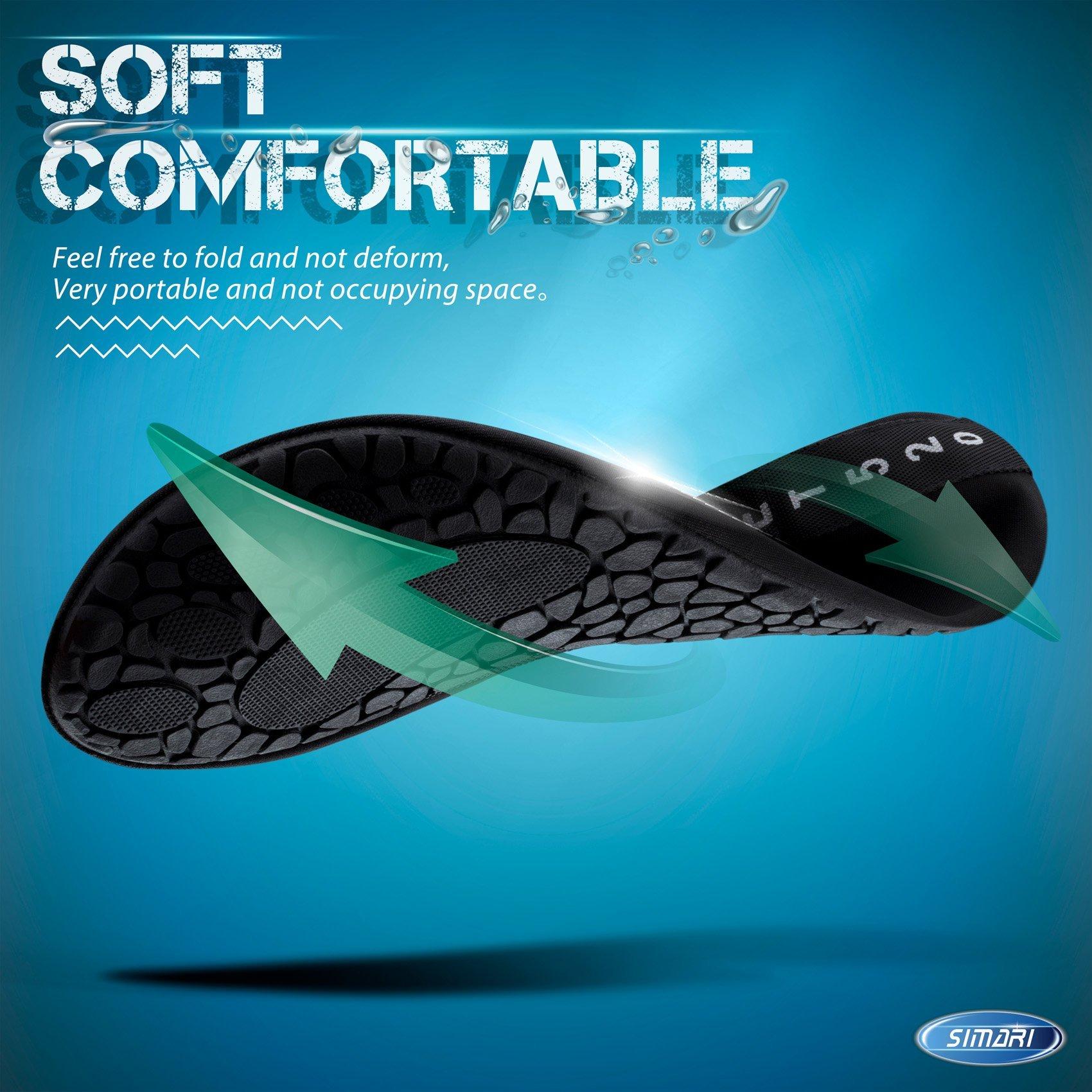 Water Shoes Aqua Socks for Women Men by SIMARI (Image #3)