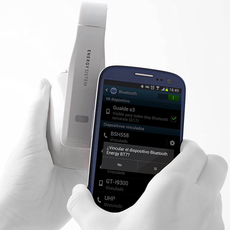 Energy Sistem BT7 NFC - Auriculares de diadema cerrados Bluetooth, Blanco: Amazon.es: Electrónica