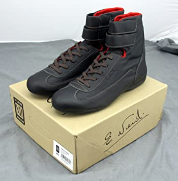 NARDI Leather High Cut Driving Shoes