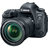 Canon EOS 6D Mark II with EF 24-105mm IS STM Lens, WiFi Enabled
