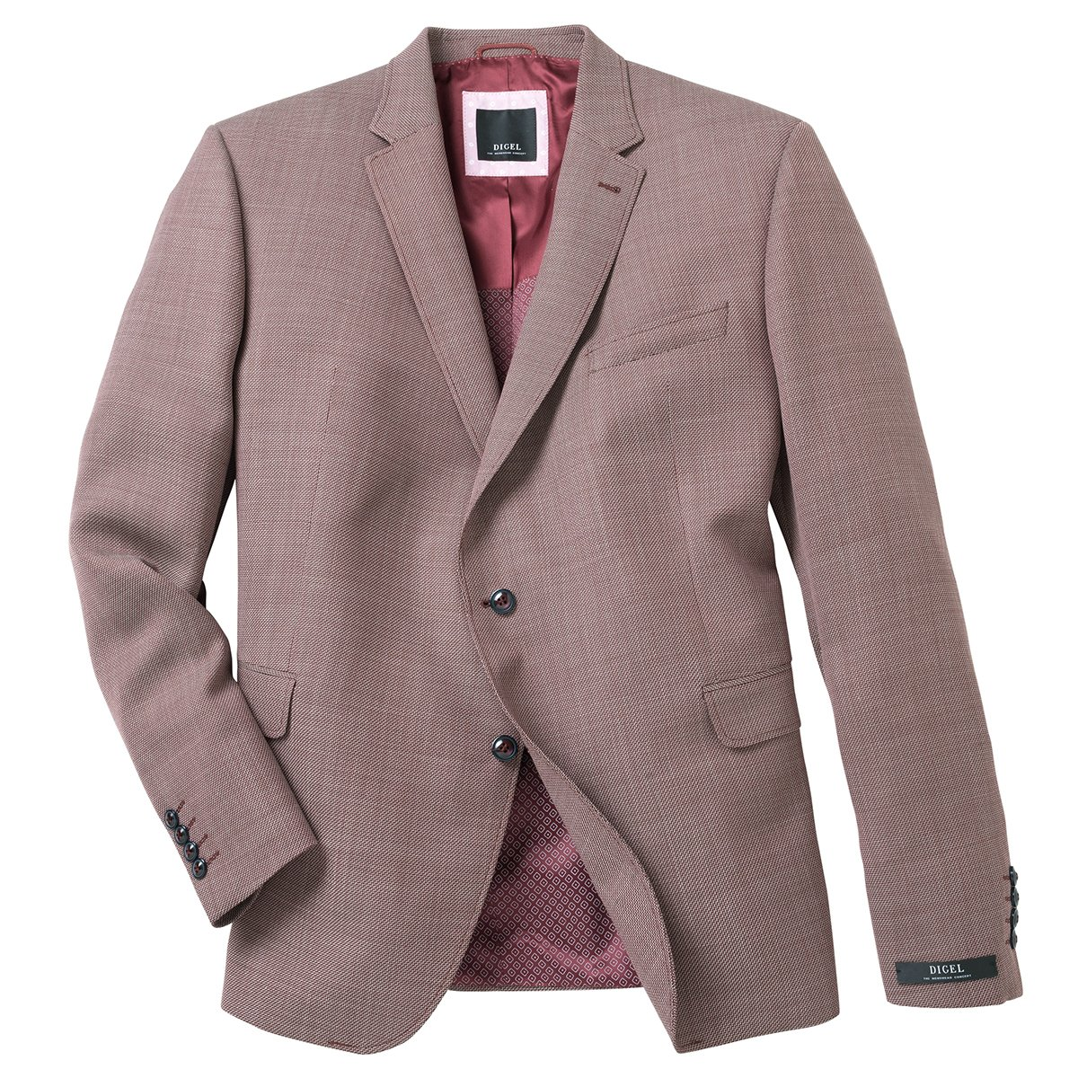 aad809cb75b0 Luigi Morini Veste de costume grise - Modèle  Rimini  Amazon.fr  Vêtements  et accessoires
