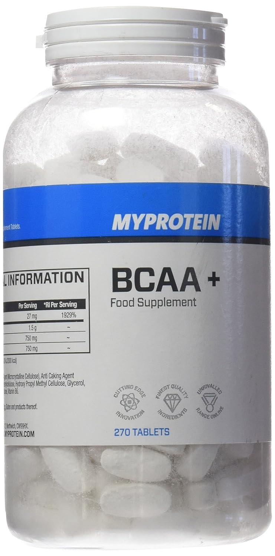 MyProtein BCAA Plus 1000 Mg Aminoácidos de Cadena Ramificada - 270 Tabletas: Amazon.es: Salud y cuidado personal