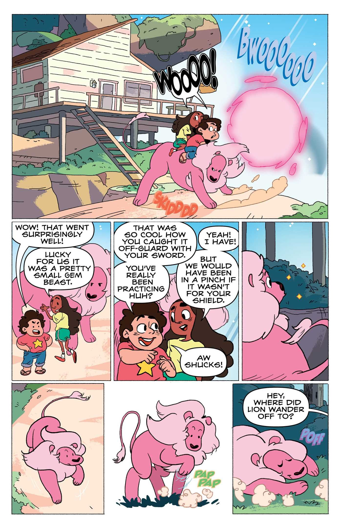 Steven Universe: Punching Up (Vol. 2) by KaBOOM! (Image #2)