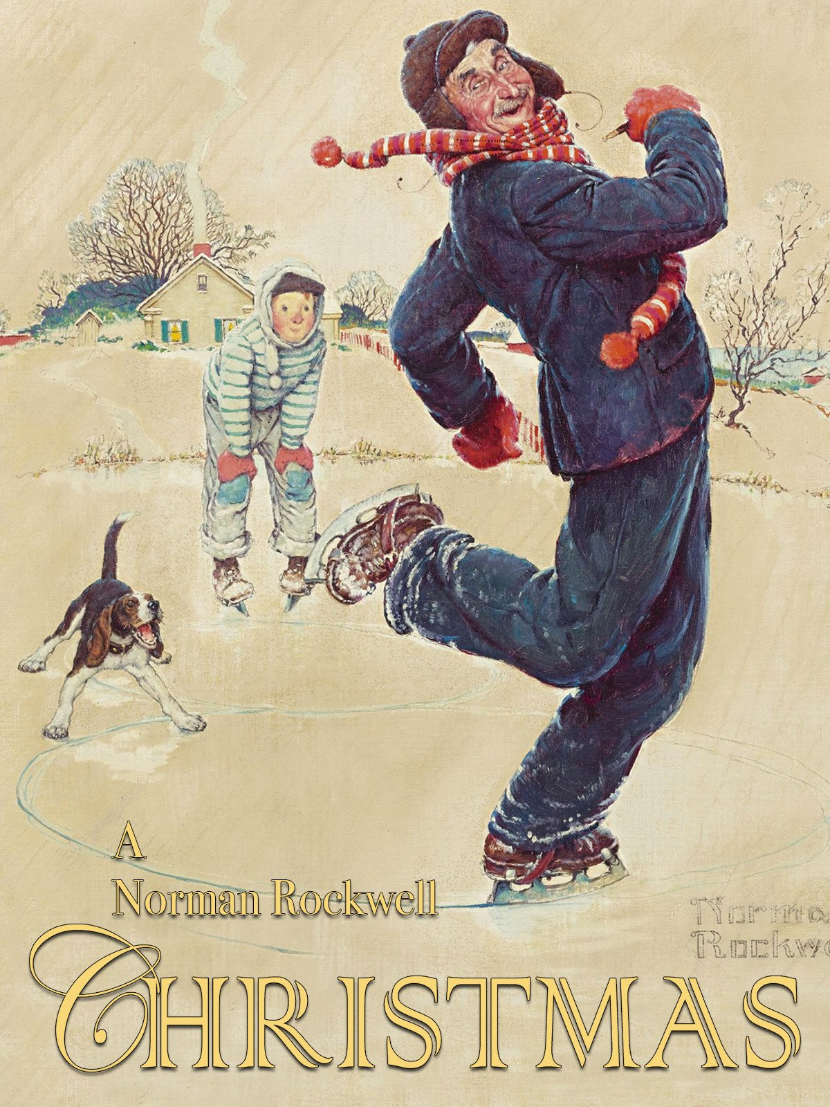 Amazon.com: A Norman Rockwell Christmas Story: James Callahan, Sky ...