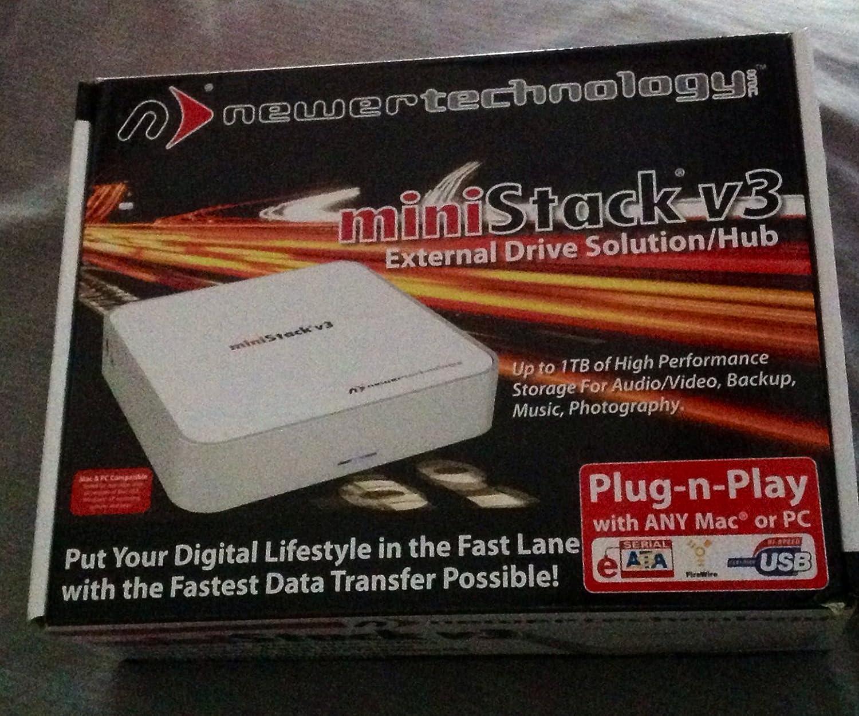 Amazon.com: NewerTech MiniStack v3 Quad Interface\' FireWire® 800 ...