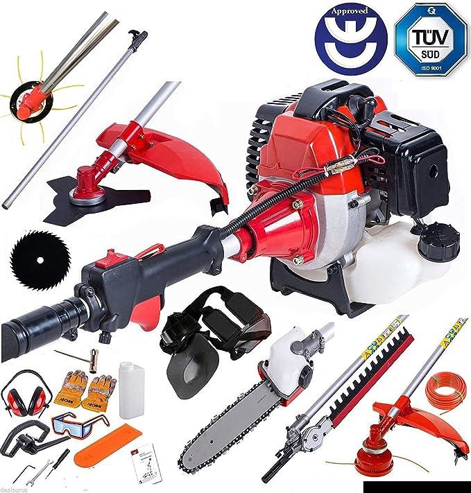 BU-KO 2019 52cc Long Reach Petrol Multi Functional Garden Tool