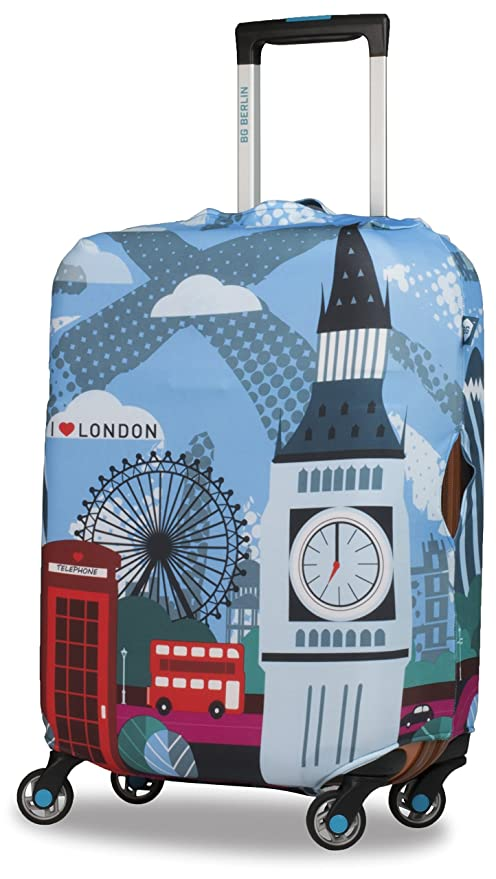 BG Berlin Hug London - Funda para Maleta (tamaño Mediano), diseño de Londres