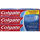 Colgate Cavity Protection Toothpaste with Fluoride - 8 ounce (3 Count)