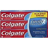 Colgate Cavity Protection Fluoride Toothpaste Regular Flavor - 3 PK