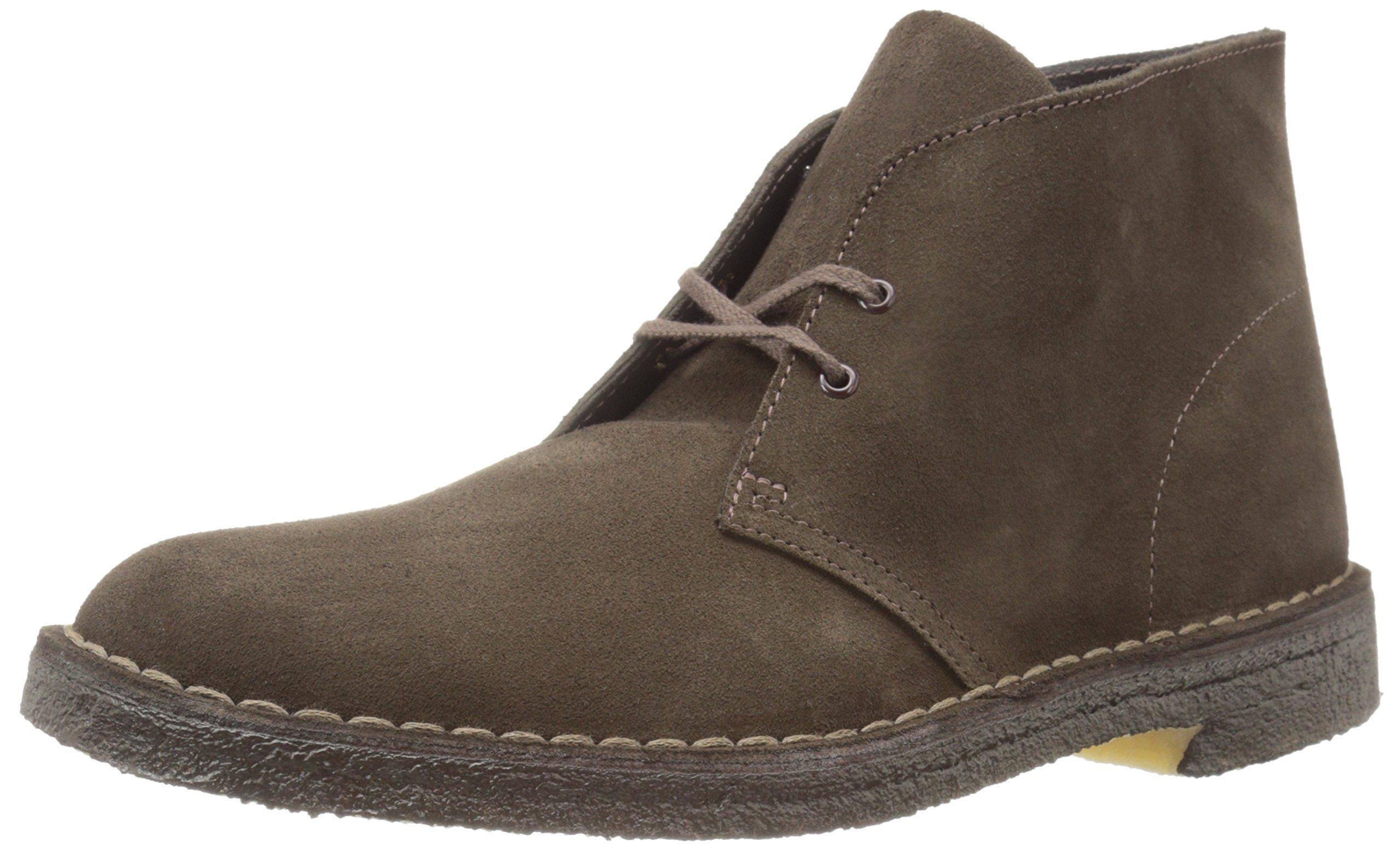 Clarks Originals Men's Desert Boot,Brown Suede,10.5 M US