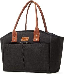 Insulated Lunch Bag, SCORLIA 13
