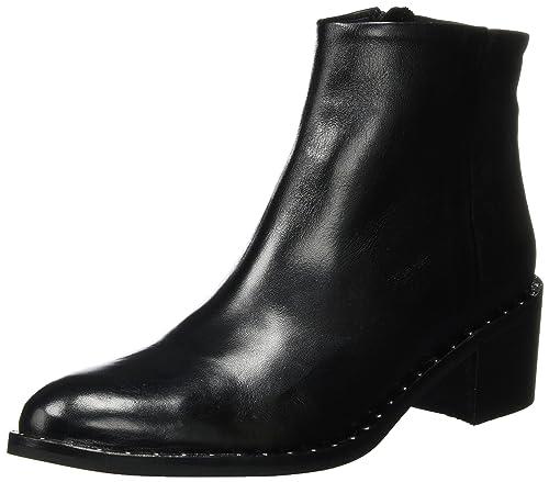Bianco Dot Boot, Botas para Mujer, Negro (Black 10), 38 EU