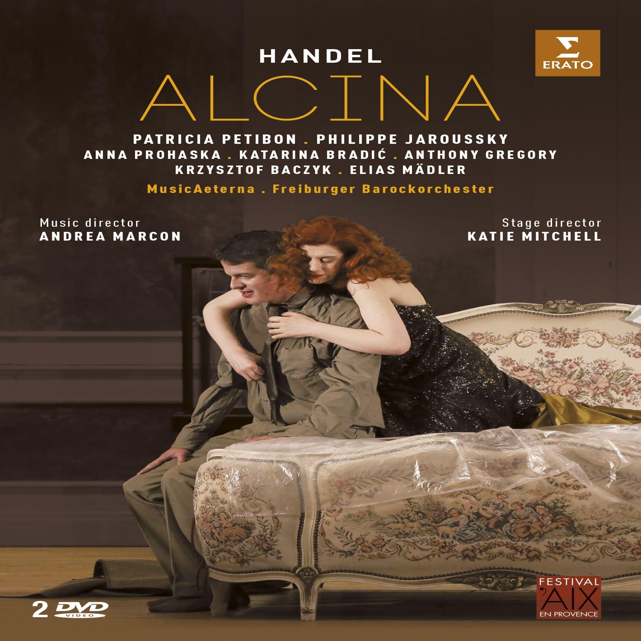DVD : Philippe Jaroussky - Alcina (aix En Provence) (DVD)