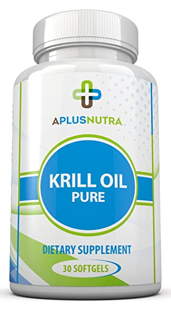 100% Pure Krill Oil Cold Vacuum Extracted Antarctic Omega 3 Krill Oil Providing a Powerful
