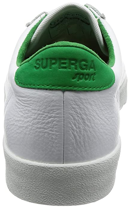 Superga 2843 Comfleau, Sneaker Unisex-Adulto, Bianco (White-Island Green SN57), 45 EU