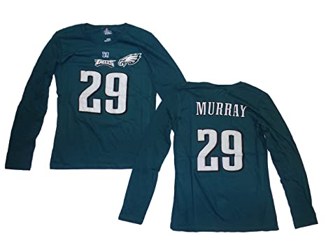 Demarco Murray Philadelphia Eagles Women s Fair Catch Green Jersey Name and  Number Long Sleeve T- ad4cf56c27
