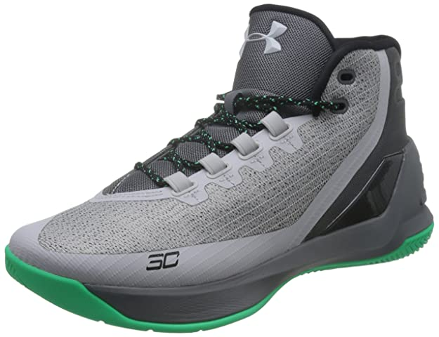 Amazon.com | Under Armour Mens Curry 3 Basketball Shoe Green | Basketball