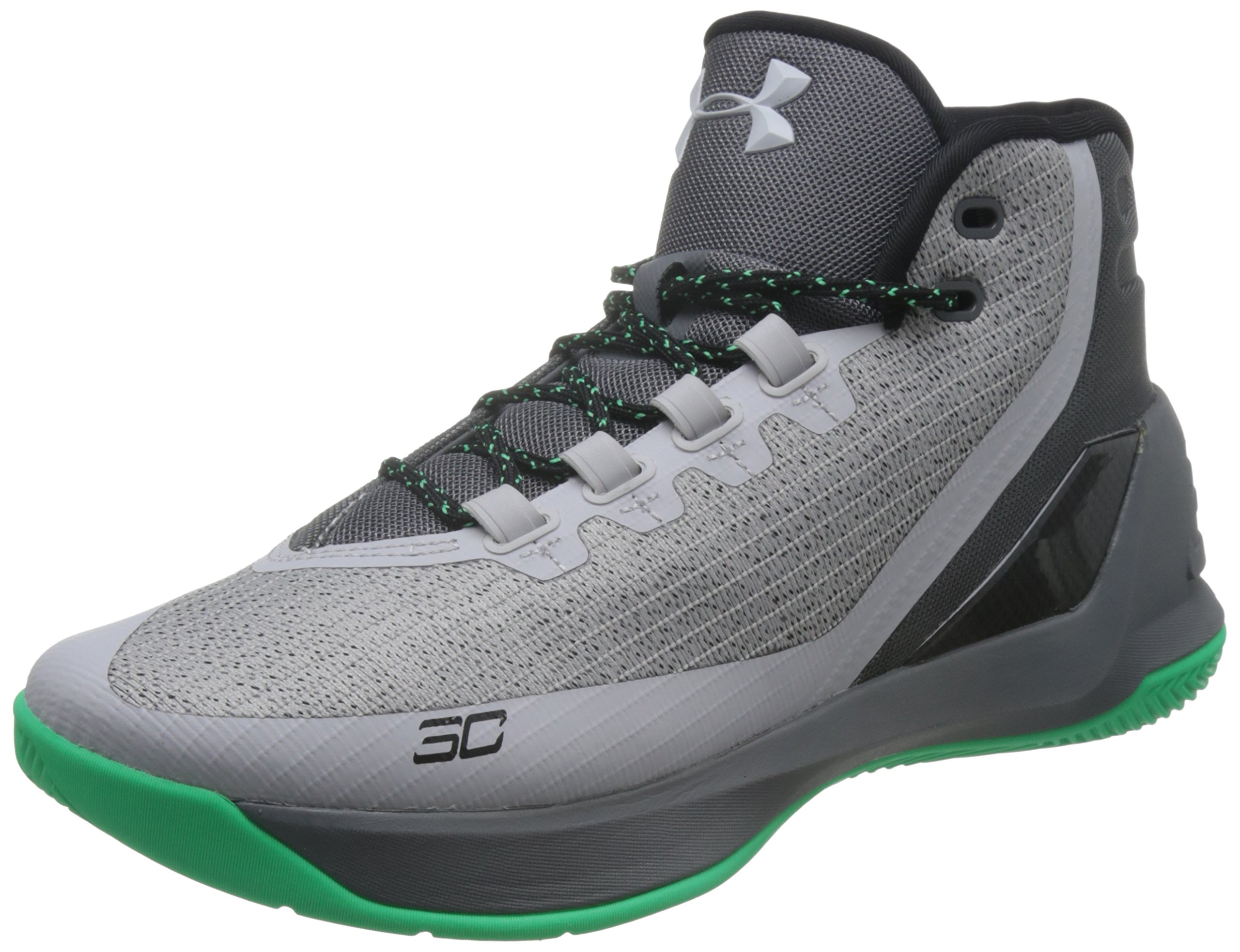 76cfcdee39f Galleon - Under Armour Men s UA Curry 3 Basketball Shoes (Black Or Grey)  1269279 (13