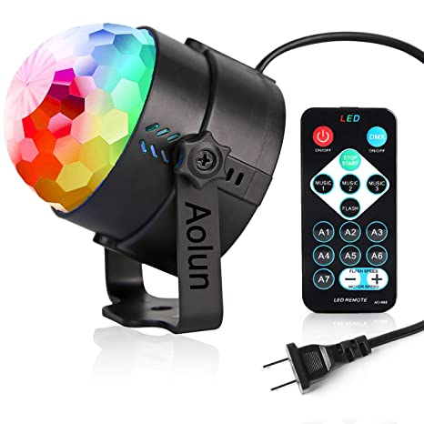 Party Lightsdisco Lights Sound Activated With Remote Disco Ball Lightstage Lights