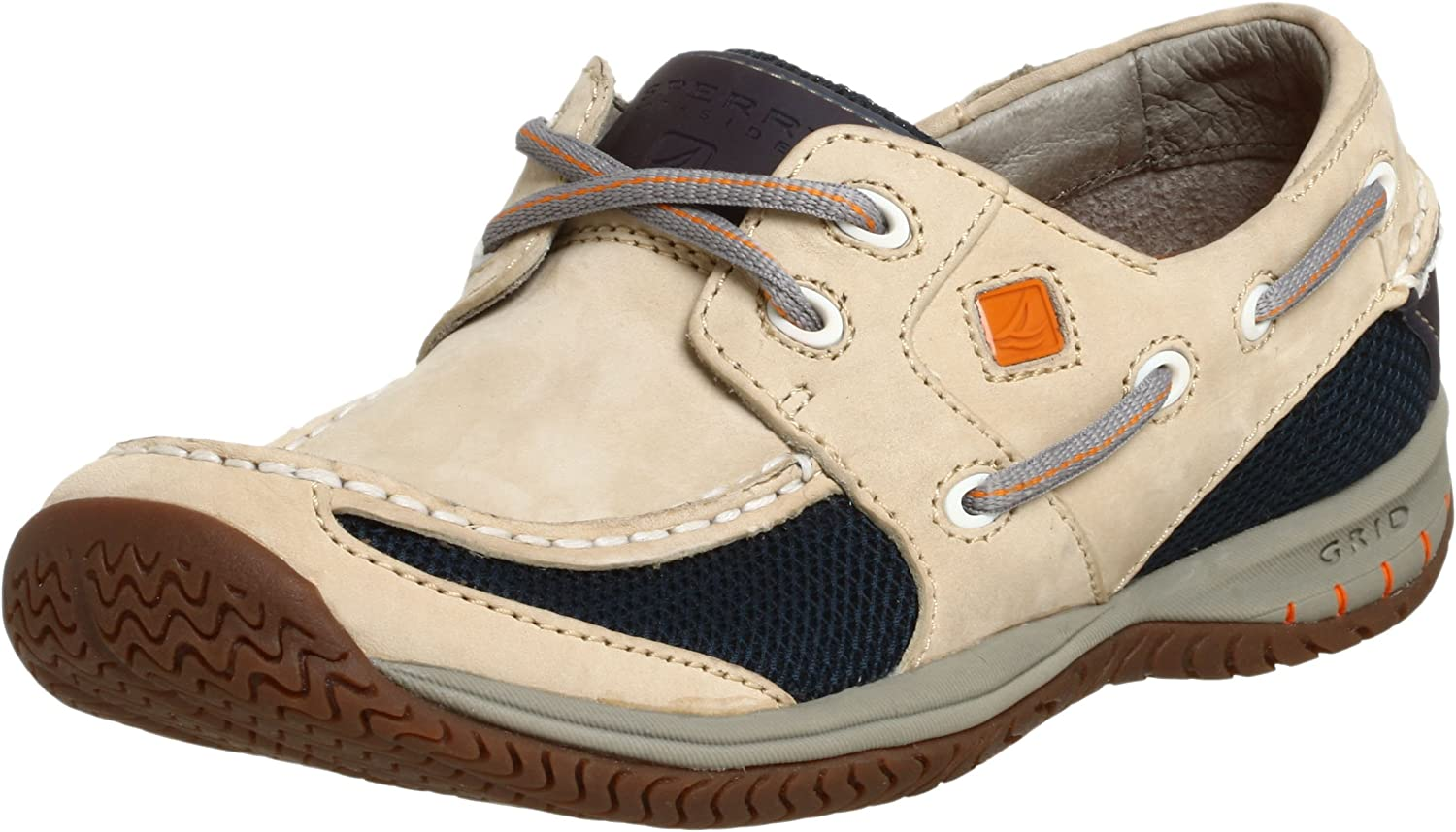 NEW MEN/'S  SPERRY AUTHENTIC ORIGINALS A//O 2-EYE NATUICAL NAVY BOAT SHOES