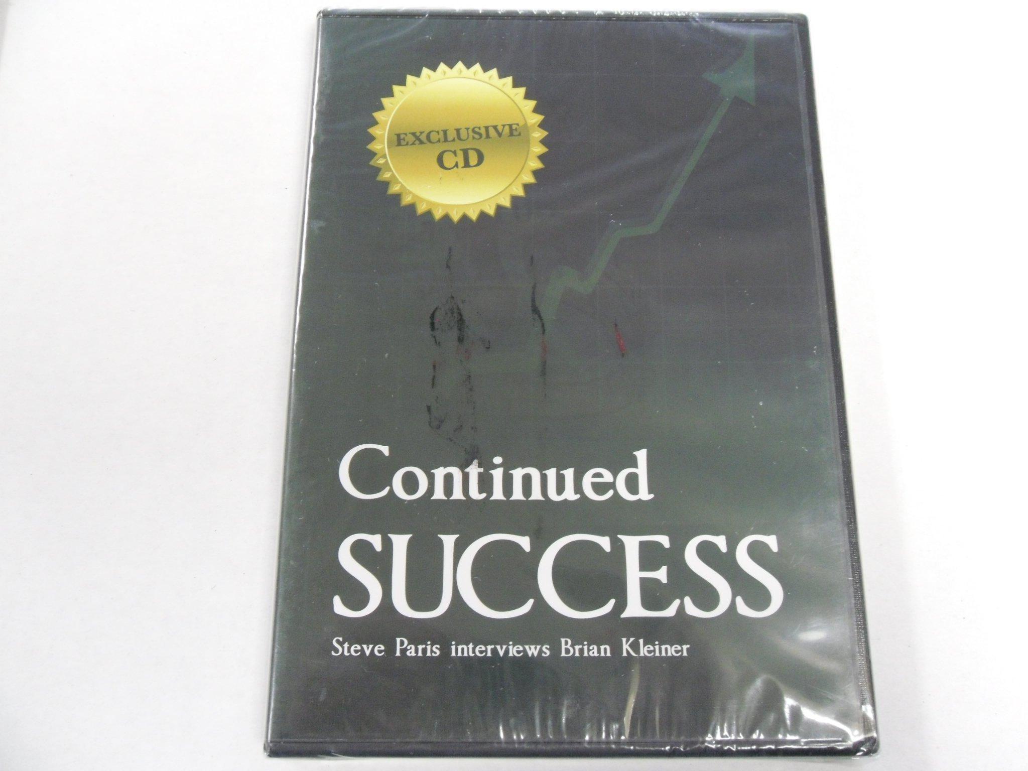Continued Success Steve Paris interview Brian Kleiner