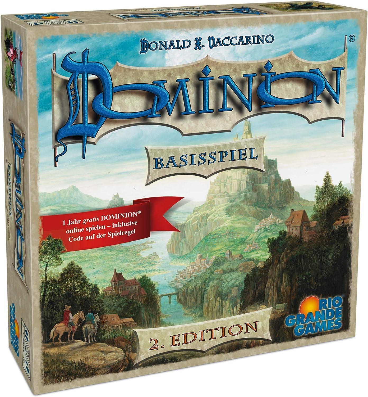 Rio Grande Games 22501413 – Dominion Base – Segunda Edition ...