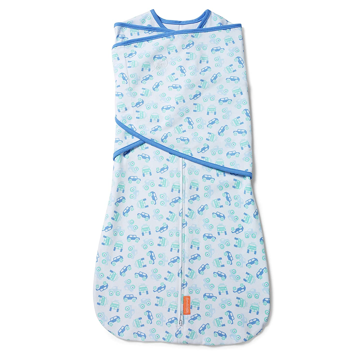 SwaddleMe Arms Free Convertible Swaddle - 1 Pack, Lil Off Roader, 6-9 Months