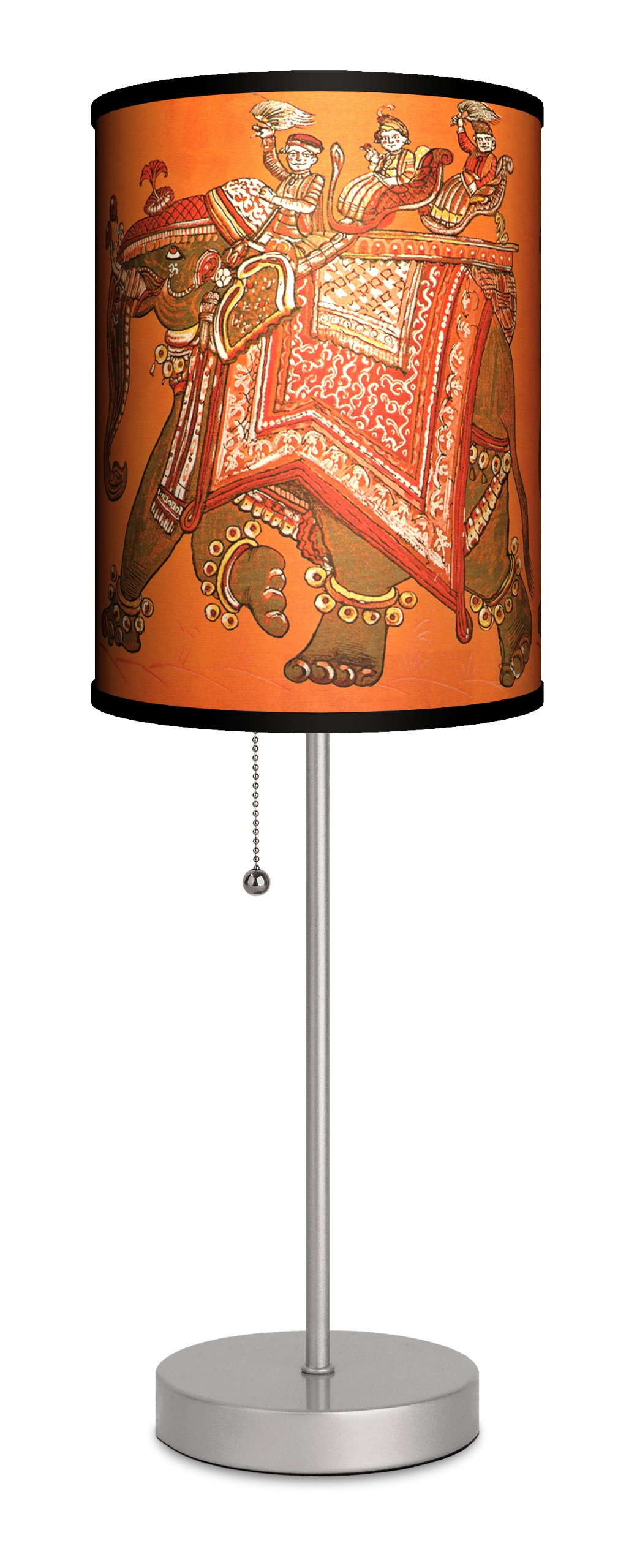 Various - India Design Sport Silver Lamp