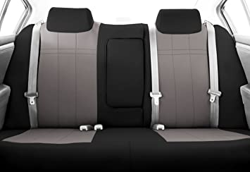 CalTrend Rear Row 40 60 Split Bench Custom Fit Seat Cover For Select Toyota Tacoma