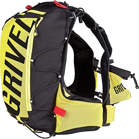 negozio online b528a 7292c Grivel zaino montagna Mountain Runner 20 Litri, 550gr, nero giallo