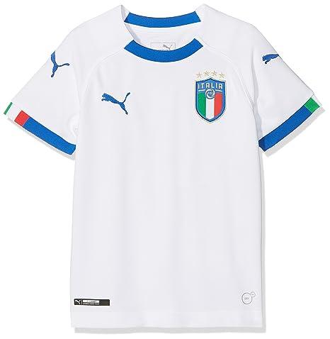 cd47e4731 Amazon.com : PUMA 2018-2019 Italy Away Football Shirt (Kids) : Clothing