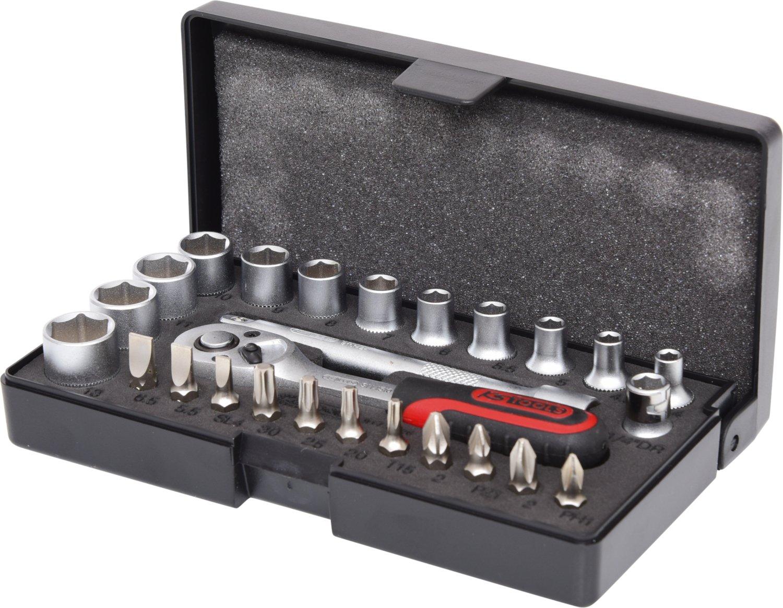KS Tools 917.0216 Juego de llave de vaso de 1/4