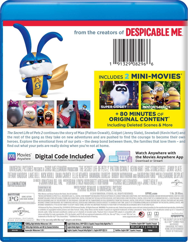 The Secret Life Of Pets 2 Blu Ray Amazon Co Uk Dvd Blu Ray