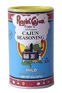 All Purpose Cajun Seasoning Mild 8 oz Ragin' Cajun
