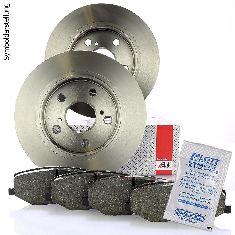 Bremsbel/äge Bremsbelagsatz Set vorne Vorderachse Bremsscheiben vorne /Ø308mm